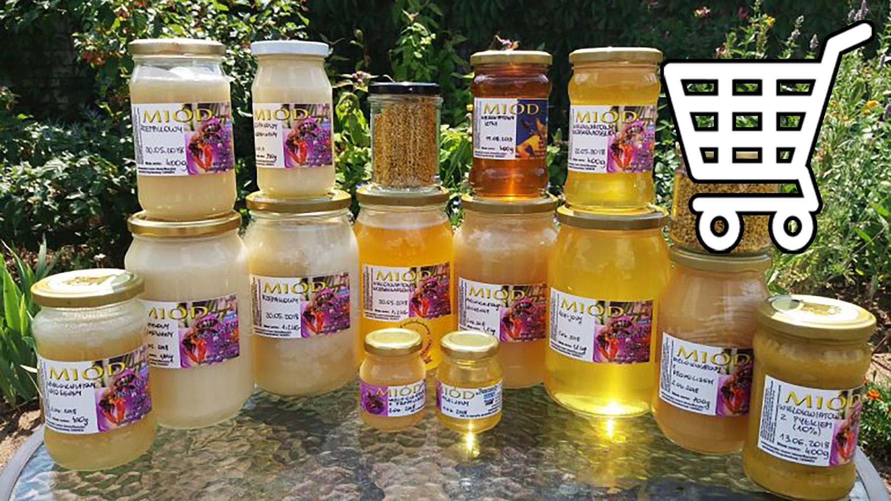Miód z pasieki Pszczoły i My